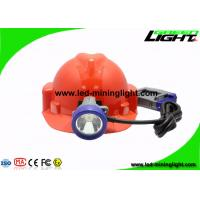 China Shock Resistant 10000 Lux Safety Coal Mining Cap Lights with Cable 1.4m/1.6m on sale