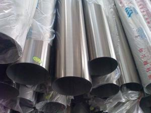 China Round ASTM A554 / A268 Weldd SS Pipe cold draw 1 - 24 stainlss steel tubes on sale
