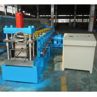 7.5KW Hydraulic cutting Steel Profile C Channel Purlin Roll forming Machine
