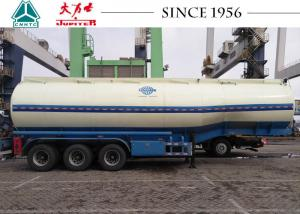 China 40000 Liters Fuel Tanker Trailer Long Service Life For Petroleum Transport on sale