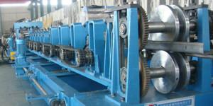 China C80-300 C Purlin Roll Forming Machine , Quick Change Size Steel Roll Forming Machine on sale