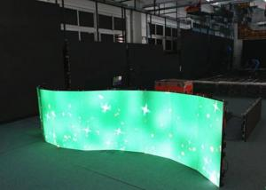 China P3.91 P4.81 360 Degree Curved LED Screen With Die-cast Aluminum Cabinet 500 x 500mm on sale