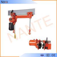Heavy Load 5 Ton / 10 Ton Manual Chain Hoist Lifting Equipment 24v - 48v