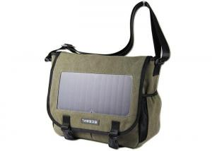 China Polyester Material Solar Powered Bookbag USB Output Portable Charger For Cell Phone on sale