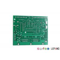 Green Solder Mask Multilayer Circuit Board FR 4 Base Material LF-HASL Surface Treatment