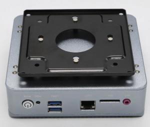China Quad Core Nano Mini PC Intel J1900 CPU Fanless Dual LAN Ports Mini Computer on sale