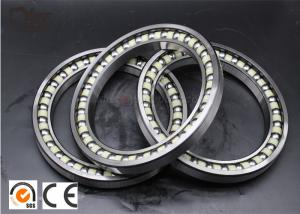 China Stainless Steel Groove Ball Bearing / Excavator Swing Bearing Replacement YNF02793 on sale