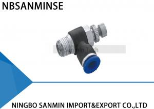China JSC Pneumatic Elbow Tube Hose Air Pipe Fitting Components Quick Connector Sanmin on sale