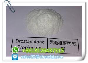 China CAS 521 - 12 - 0 Muscle Burning Fat Steroids Powder Drostanolone Propionate Masteron on sale