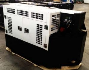 China Clip On 460V Reefer Container Generator 25kw Tanzanian Pour Genset 3 Phase on sale
