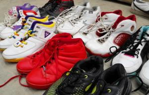 China Bulk Used Soccer Shoes , Used Basketball Shoes , Used Jogging Shoes Wholesale on sale