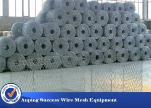 China Stainless Steel Gabion Wire Mesh For Gabion Cages / Gabion Basket Flexible Nature on sale