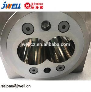 China Alloy Steel Pipe Extruder Screw , Extruder Machine Parts Nitriding Treatment on sale