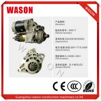 China Light Weight Hitachi Starter Motor 0-24000-3041 0240003041 Part Number on sale