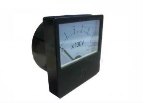 China Analog Voltmeter Panel Meter For Measure 0-500V 80X80mm Flush Mounting on sale
