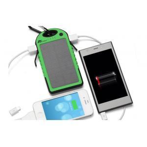China mini chargeur portatif d'USB du voyage 5000mAh, chargeur portatif imperméable vert de téléphone on sale