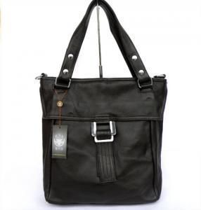 China Wholesale Price Coffee Genuine Leather Lady Hand Bag Messenger Bag #3079C on sale