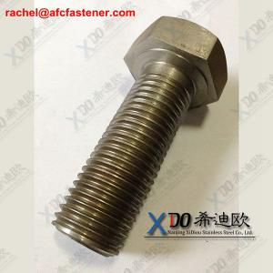 China heavy hex bolts 1.4547 254smo on sale