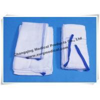 Cotton Non - Sterile Gauze Sponges , Lap Surgical Medical Gauze Pad Plain / Preshed