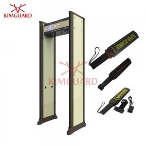 China Checkpoint  X Ray Walk In Pass Through Metal Detector , 45 Zone Metal Detecting Equipment on sale