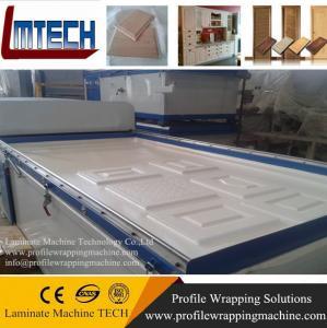 China máquina de la prensa de la membrana del vacío de las puertas de gabinete de cuarto de baño del mdf de la melamina on sale