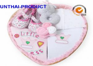 China Customized Baby Clothes Gift Set Total 7 Packs With 100% Cotton Material on sale