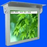 19inch HD WIFI / 3G Bus Digital Signage , Antivibration Design Bus LCD Advertising Player
