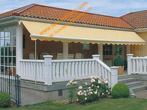 China Outdoor Balcony Motorized  Remote Control Retractable Awnings on sale