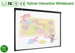 China 82 Alluminum Alloy Framed Optical Interactive Whiteboard Dual Finger Touch on sale