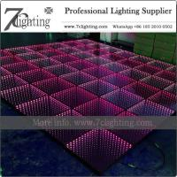 China 12FT X 12FT Size 3D LED Dance Floor Kit Event Lighting Packages on sale
