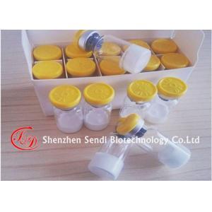 Les peptides d'hormone de croissance de Melanotan II saupoudrent la peau bronzant Melanotan 2 10mg/fioles