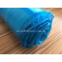 China Blue High Absorbent EPE Foam Sheet OEM Silent Flooring Underlay PE Film Laminating Floor on sale