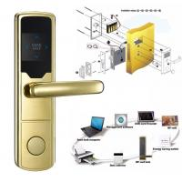 High Security Software Management System RF Hotel Door Lock Electronic Door Latches