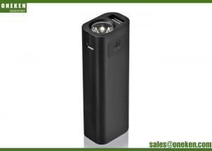 China Slim Led Light Gift Power Bank 2600mAh For Mobile Cellphones 18650 Battery on sale