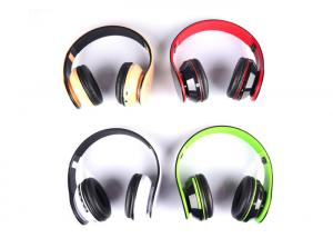 China Lightweight Stereo Foldable On Ear Headphones With 6 Hours Playing Time on sale