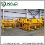 Filtro de vacío rotatorio amarillo 60m3 para la desecación minera de las aguas residuales