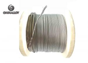 China 19 Strands 2080 Nickel Chromium Wire Hydrogen Annealing For Heating Rope material on sale