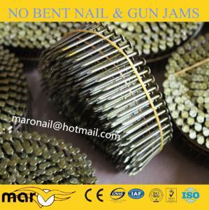 China 2 x .099 Screw Blunt Diamond Coil Nails on sale