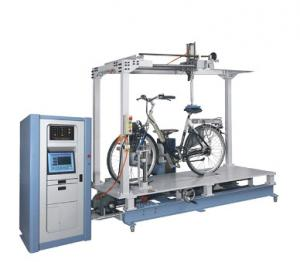 China PC Control Micro Computer Automatic Compression Bicycle Bike System Durability Dynamic Braking Road Performance Tester on sale