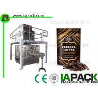 Automatic Coffee Beans Packing Machine Stand Up Pouch Zipper Filler Sealer
