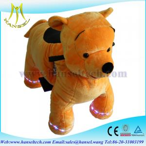 China Hansel coin operated battery animal ride electric motorized toy bike on sale