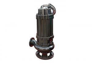 China Vertical Submersible Sewage Pump 3 Phase 50hz / 60hz Environmental Friendly on sale
