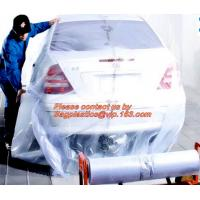 Plastic drop sheet/cloth(fastmask masking film),Disposable car cover,5 in 1 auto clean kits(Disposable seat cover, steer