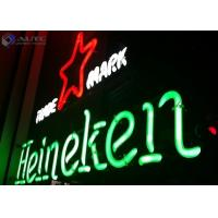 Christmas Sign Glass Outdoor Neon Lights 12V For Advertising Signage