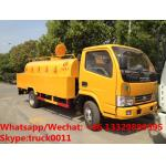 High quality and competitive price 3,000Liters high pressure water cleaning vehicle for sale, 3m3 sewer cleaning truck