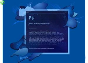 China 3D Artwork Adobe Graphic Design Software Photoshop CS 6 / CS 5 Standard Version on sale