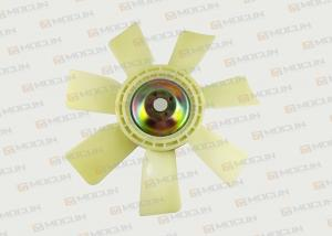 China Excavator E200B Fan Blade For Diesel Engine S6K Cooling Fan 4 Holes 7 Blades on sale
