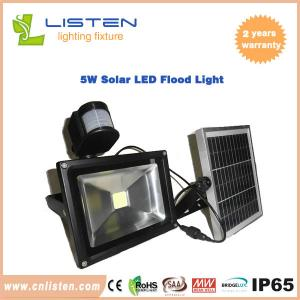 China 5W Solar Flood Light Epistar LED lithium battery easy installation, energy saving, , no electricity bill on sale