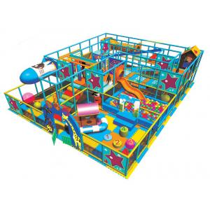China Commercial Kids Indoor Playground Equipments with Playhouse and Rocket A-09302 on sale