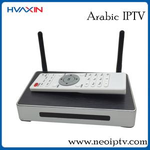 Quality Smart tv android box arabic iptv set box support xbmc ,youtube and kodi for sale